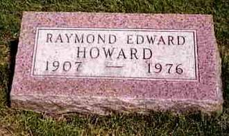 HOWARD, RAYMOND EDWARD - Madison County, Iowa | RAYMOND EDWARD HOWARD