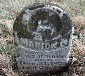 HOWE, MARION F. - Madison County, Iowa | MARION F. HOWE
