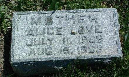 HOWELL, ALICE M. - Madison County, Iowa | ALICE M. HOWELL