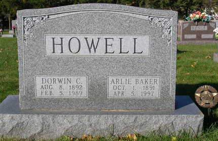 BAKER HOWELL, ARLIE - Madison County, Iowa | ARLIE BAKER HOWELL