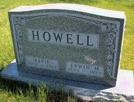 HOWELL, ERWIN MILLER - Madison County, Iowa | ERWIN MILLER HOWELL