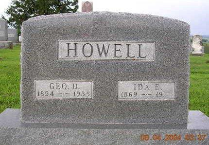 HOWELL, GEORGE DONALD - Madison County, Iowa | GEORGE DONALD HOWELL