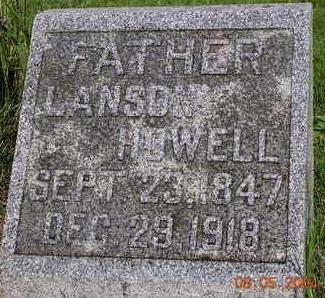 HOWELL, LANSON - Madison County, Iowa | LANSON HOWELL