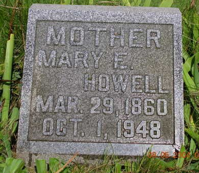 WILLIAMS HOWELL, MARY ETTA - Madison County, Iowa | MARY ETTA WILLIAMS HOWELL