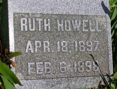 HOWELL, RUTH - Madison County, Iowa | RUTH HOWELL