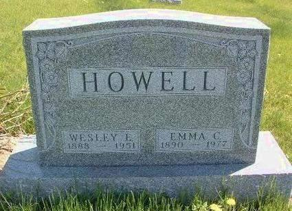 HOWELL, EMMA C. - Madison County, Iowa | EMMA C. HOWELL