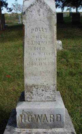 HOWARD, POLLY - Madison County, Iowa | POLLY HOWARD