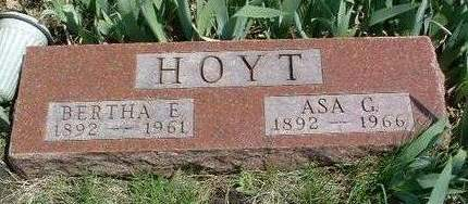 HOYT, ASA GEORGE - Madison County, Iowa | ASA GEORGE HOYT