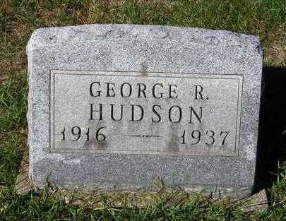 HUDSON, GEORGE R. - Madison County, Iowa | GEORGE R. HUDSON