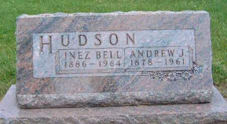 CLINE HUDSON, INEZ BELL - Madison County, Iowa | INEZ BELL CLINE HUDSON