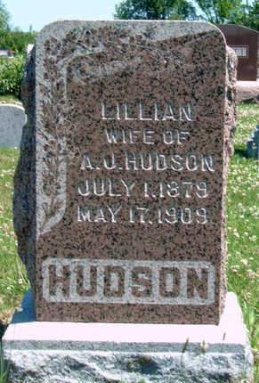 HUDSON, MAY LILLIAN - Madison County, Iowa | MAY LILLIAN HUDSON