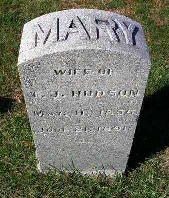 TIDRICK HUDSON, MARY F. - Madison County, Iowa | MARY F. TIDRICK HUDSON