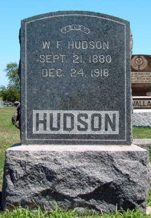 HUDSON, WILLIS FREDERICK - Madison County, Iowa | WILLIS FREDERICK HUDSON