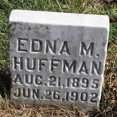 HUFFMAN, EDNA M. - Madison County, Iowa | EDNA M. HUFFMAN