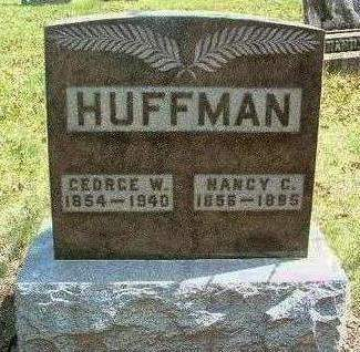 HUFFMAN, GEORGE WASHINGTON - Madison County, Iowa | GEORGE WASHINGTON HUFFMAN