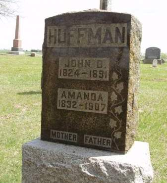 HUFFMAN, JOHN B. - Madison County, Iowa | JOHN B. HUFFMAN