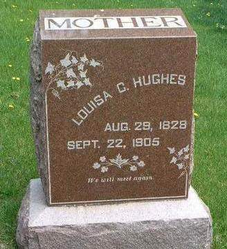 HUGHES, LOUISA CAROLINE - Madison County, Iowa | LOUISA CAROLINE HUGHES