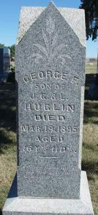 HUGLIN, GEORGE F. - Madison County, Iowa | GEORGE F. HUGLIN
