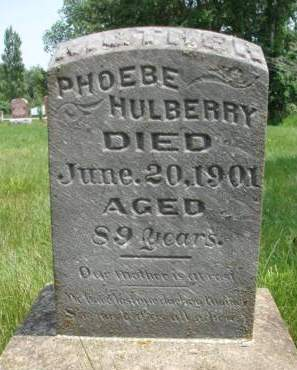 HULBERRY, PHOEBE ANN - Madison County, Iowa | PHOEBE ANN HULBERRY