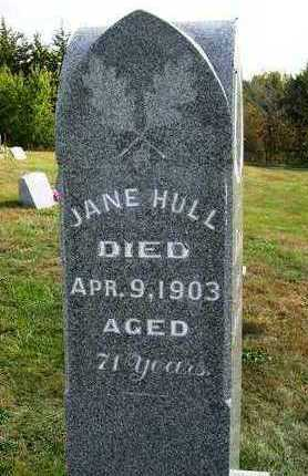HULL, JANE - Madison County, Iowa | JANE HULL