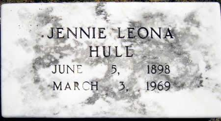HULL, JENNIE LEONA - Madison County, Iowa | JENNIE LEONA HULL