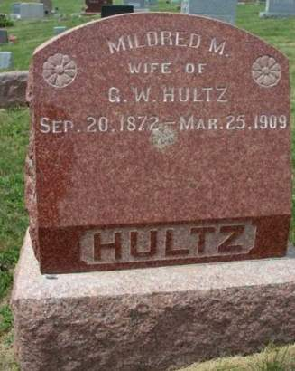 WICKINS HULTZ, MILDRED M. - Madison County, Iowa | MILDRED M. WICKINS HULTZ