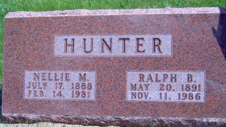 HUNTER, RALPH B. - Madison County, Iowa | RALPH B. HUNTER