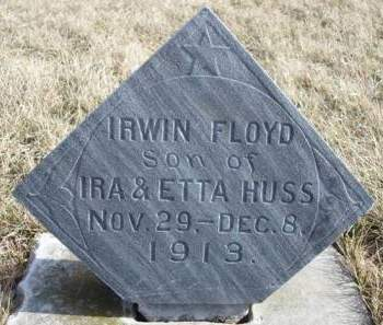 HUSS, IRWIN FLOYD - Madison County, Iowa | IRWIN FLOYD HUSS