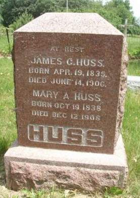 HUSS, JAMES GUINALL - Madison County, Iowa | JAMES GUINALL HUSS