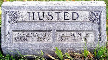 BALLARD HUSTED, VERNA ORA - Madison County, Iowa | VERNA ORA BALLARD HUSTED