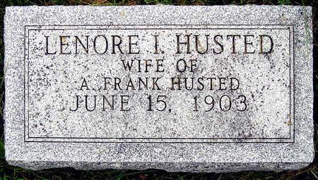 HUSTED, LENORE IRENE - Madison County, Iowa   LENORE IRENE HUSTED