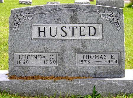 FOSTER HUSTED, LUCINDA CATHERINE - Madison County, Iowa | LUCINDA CATHERINE FOSTER HUSTED