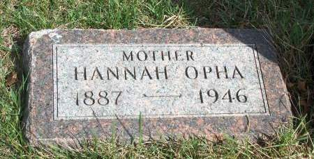 HUSTON, HANNAH OPHA - Madison County, Iowa | HANNAH OPHA HUSTON