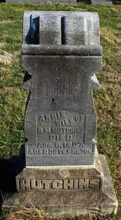 HUTCHINS, ANNIE - Madison County, Iowa | ANNIE HUTCHINS