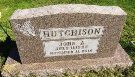HUTCHISON, JOHN ARTHUR - Madison County, Iowa | JOHN ARTHUR HUTCHISON