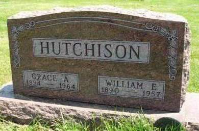STRAWN HUTCHINSON, GRACE ALICE - Madison County, Iowa | GRACE ALICE STRAWN HUTCHINSON