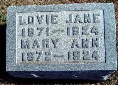 IMBODEN, LOVIE JANE - Madison County, Iowa | LOVIE JANE IMBODEN