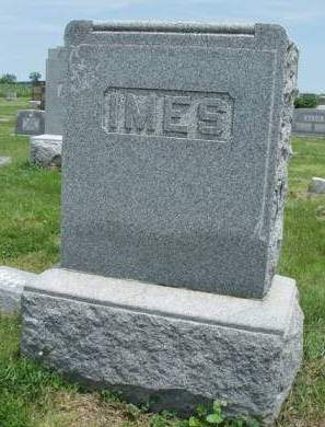 IMES, FAMILY HEADSTONE - Madison County, Iowa | FAMILY HEADSTONE IMES
