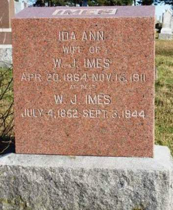 IMES, WILLIAM JESSE - Madison County, Iowa | WILLIAM JESSE IMES