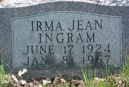 INGRAM, IRMA JEAN - Madison County, Iowa | IRMA JEAN INGRAM