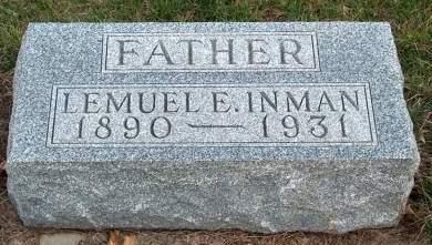 INMAN, LEMUEL E. - Madison County, Iowa | LEMUEL E. INMAN