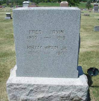 IRVIN, HIRAM C., JR. - Madison County, Iowa | HIRAM C., JR. IRVIN