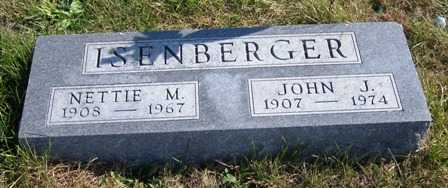 ISENBERGER, JOHN J. - Madison County, Iowa | JOHN J. ISENBERGER