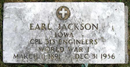 JACKSON, EARL - Madison County, Iowa | EARL JACKSON