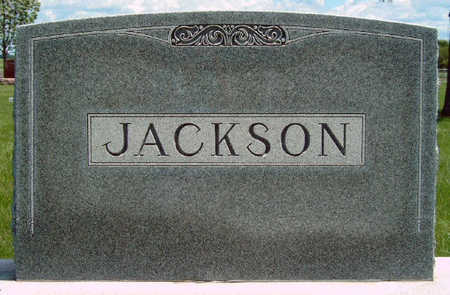 JACKSON, FAMILY STONE - Madison County, Iowa | FAMILY STONE JACKSON