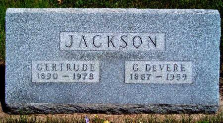 JACKSON, GERTRUDE CHRISTINE - Madison County, Iowa | GERTRUDE CHRISTINE JACKSON