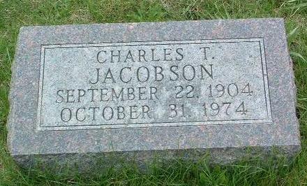 JACOBSON, CHARLES THEODORE - Madison County, Iowa   CHARLES THEODORE JACOBSON