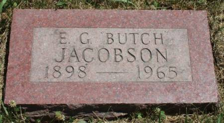 JACOBSON, ELMER GEORGE (BUTCH) - Madison County, Iowa | ELMER GEORGE (BUTCH) JACOBSON