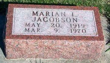 KIRLIN JACOBSON, MARIAN LUCILLE - Madison County, Iowa | MARIAN LUCILLE KIRLIN JACOBSON