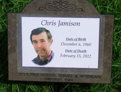 JAMISON, CHRIS - Madison County, Iowa | CHRIS JAMISON